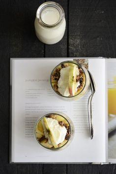 beautiful breakfast: Apple Granola Parfait
