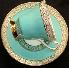Royal Stafford turquoise
