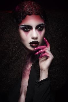 Vampire Kiss by Karla Powell  Halloween Makeup