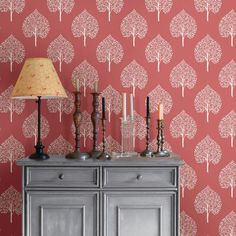 Bring a colorful and pop to walls with this peel and stick wallpaper design. Allowing you to enjoy the beauty of traditional wallpaper without the time and commitment, fashion a stylish home with this coral wall decor that is easy to install and remove. Wallpaper Online, Home Wallpaper, Wallpaper Roll, Peel And Stick Wallpaper, Target Wallpaper, Fashion Wallpaper, Coral Walls, Rosa Rose, Botanical Wallpaper