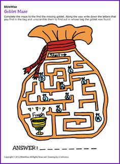 Goblet Maze