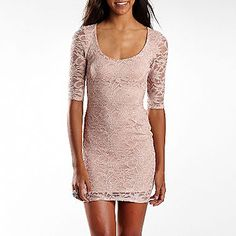 Jump Apparel Sequined Lace Dress - jcpenney