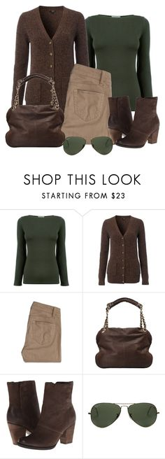 """Untitled #1268"" by gallant81 ❤ liked on Polyvore featuring Hobbs, Hollister Co., Vanessa Bruno, ALDO and Ray-Ban"