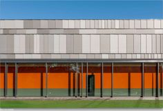 EQUITONE facade materials on sports center in the Netherlands. www.equitone.com #architecture #material #facade