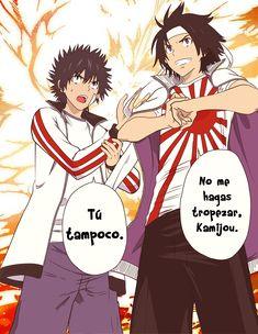 Kamijou Touma And Sogiita Gunha A Certain Magical Index Anime Animation