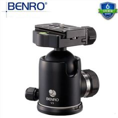 Benro V3 Magnesium Professional Ball Head Tripod Head 360 Degree Panoramic Video Head With Quick Release Plate For Canon Nikon #Affiliate
