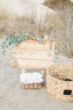 Shoes here, vows there, love everywhere: http://www.stylemepretty.com/california-weddings/carmel/2016/01/01/pink-pastel-beach-wedding-in-carmel/ | Photography: Wai Reyes - http://waireyes.com/