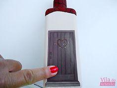 Glass Bottle Crafts, Glass Bottles, Decoupage, Recycled Decor, Bottle Opener, Barware, Recycling, Mac, Wine Bottle Art