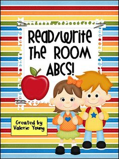 Read/Write the Room ABCs - Place letter cards around the room and students record the letters they find in ABC order - FREE printable