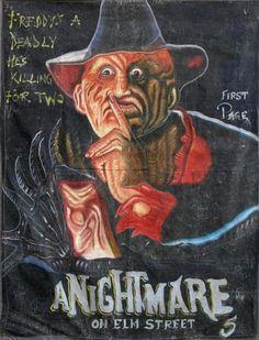 A Nightmare on Elm St Freddy