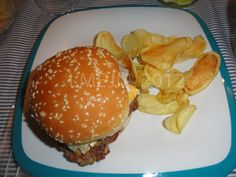 Delicious Bimburguesa for lunch!  Thanks osito Bimbo!