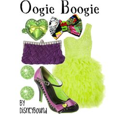 Oogie Boogie inspired outfit by Disney Bound