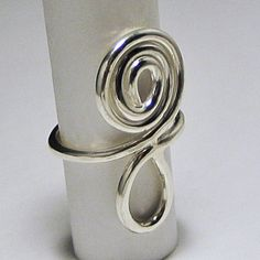 Singled Out Ring Collection ~ Question Everything Sterling Silver www.DesignByLara.com