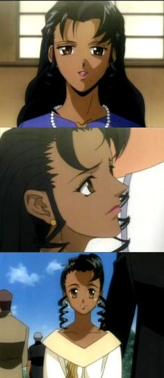 africanamericananime:  Name:Sherry Walken.   Anime : Gungrave