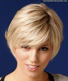 Short haircuts for senior women