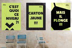 """Campagne de sensibilisation """"Terrain d'entente"""" menée avec le District de Football de Loire-Atlantique autour des incivilités autour des terrains. Terrains, Football, Studio, Awareness Campaign, Soccer, American Football, Soccer Ball, Study, Futbol"""