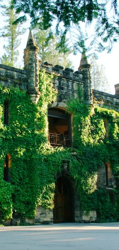 Chateau Montelena Winery in Calistoga, California • photo: Chateau Montelena Winery