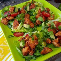 Honey-Lime Sriracha Chicken Lettuce Wraps