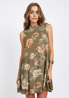 You And Me Floral Dress at #threadsence @threadsence
