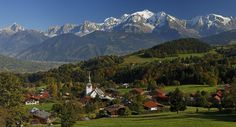 Village de Cordon au cœur du Pays du Mont-Blanc http://www.tourisme.fr/2850/office-de-tourisme-cordon.htm Crédit : ot Cordon