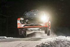 Mads Ostberg made the perfect return to the WRC with the fastest time on Wednesday's Rally Sweden 2017 shakedown.  He and Martin Prokop had originally planned to run Volkswagen Polo R WRCs, with Sebastien Ogier as a teammate, but when that fell through, the decision was taken to return to a privately run Ford Fiesta WRC.