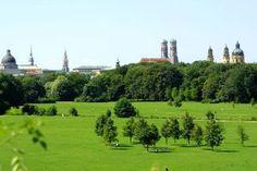 Englischer Garten Panorama München