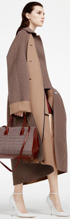 Nina Ricci Pre Fall 2016 women fashion outfit clothing style apparel @roressclothes closet ideas