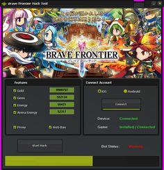 Hack and Keygen: Brave Frontier Hack