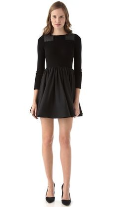 alice + olivia Aemelia Dress Winter Stockings, Dresses For Work, Formal Dresses, Belted Dress, Dress Me Up, Alice Olivia, Daily Fashion, Autumn Fashion, Cute Outfits