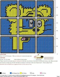 Dr. Seuss Letter P  9 Piece Puzzle
