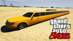 GTA 5 Mods - A Maior Limousine do MUNDO fora do Normal (GTA V PC MODS)