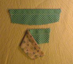 T R I C O L L A G E...: Sapatinho Bebê em tecido