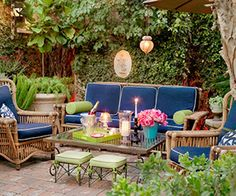 Make Your Patio Pop for your next outdoor soiree.