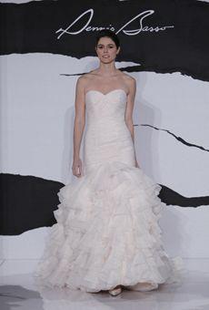 Brides: Dennis Basso for Kleinfeld Bridal - Fall 2012   Bridal Runway Shows   Wedding Dresses and Style   Brides.com