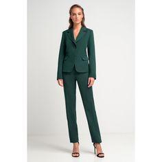 Γυναικείο κοστούμι πράσινο. Blazers, Suits, Shopping, Style, Fashion, Swag, Moda, Fashion Styles, Blazer