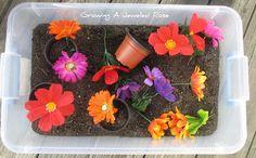 Garden Sensory Play