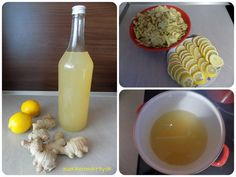Zázvorový sirup Glass Of Milk, Food And Drink, Eggs, Pudding, Sweets, Drinks, Breakfast, Desserts, Syrup