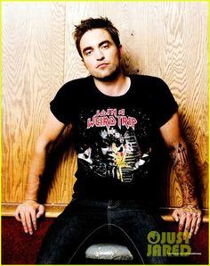 Robert Pattinson Covers 'BlackBook' September 2012