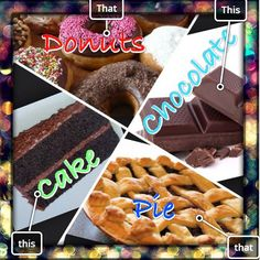 Which is your Favorite? #food #askem #foodie #chocolate #cake #pie #donuts