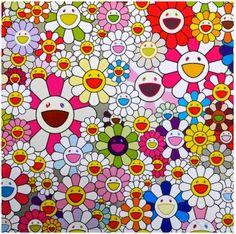Flowers Blooming in the World and the Land of Nirvana, 2013. Takashi Murakami Artspace
