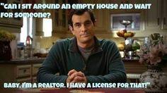 Real Estate Humor | The better side of real estate | Realtor | Modern Family |