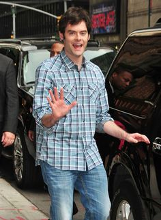 He's approachable. | 16 Reasons Bill Hader Is The Coolest Celebrity Ever