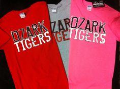 Ozark Tigers tees!!