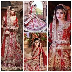 Ali Xeeshan Bridal Dresses Collection 2016-2017... Gorgeous, love the color
