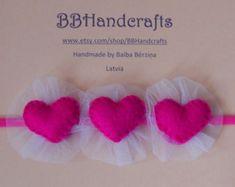 Diadema de día de San Valentín / / corazón por LittleBungalowDesign