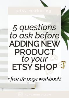 Adding new product to your Etsy shop is a fantastic way to give your sales  a boost, but sometimes in our overwhelm to add more and more new product,  we lose sight of the bigger picture--the brand experience we're creating.  So before you add 10 new products in a hurry to keep relevant on Etsy,