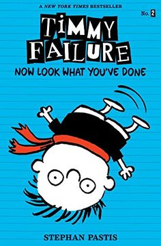 Timmy Failure: Now Look What You've Done by Stephan Pastis https://www.amazon.ca/dp/0763680141/ref=cm_sw_r_pi_dp_x_EXwJyb94S7T08
