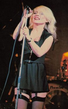 Debbie Harry.  Classy.  Understated. Can a girl possibly BE more sexy?