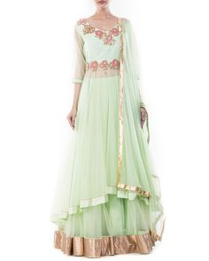 da90ae11eab Find and shop the latest Long Choli Lehengas Online from Cbazaar. We have  large collections and attractive designs on all Indian Long Choli Lehenga