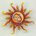 SUN AND MOON WALL ART - Unique Sun and Moon Wall Art Collection at NOVICA